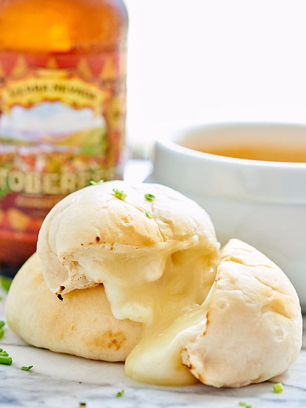 Best Canned Biscuit Recipes - Cheese Bombs - Cool DIY Recipe Ideas You Can Make With A Can of Biscuits - Easy Breakfast, Lunch, Dinner and Desserts You Can Make From Pillsbury Pull Apart Biscuits - Garlic, Sour Cream, Ground Beef, Sweet and Savory, Ideas with Cheese - Delicious Meals on A Budget With Step by Step Tutorials http://diyjoy.com/best-recipes-canned-biscuits