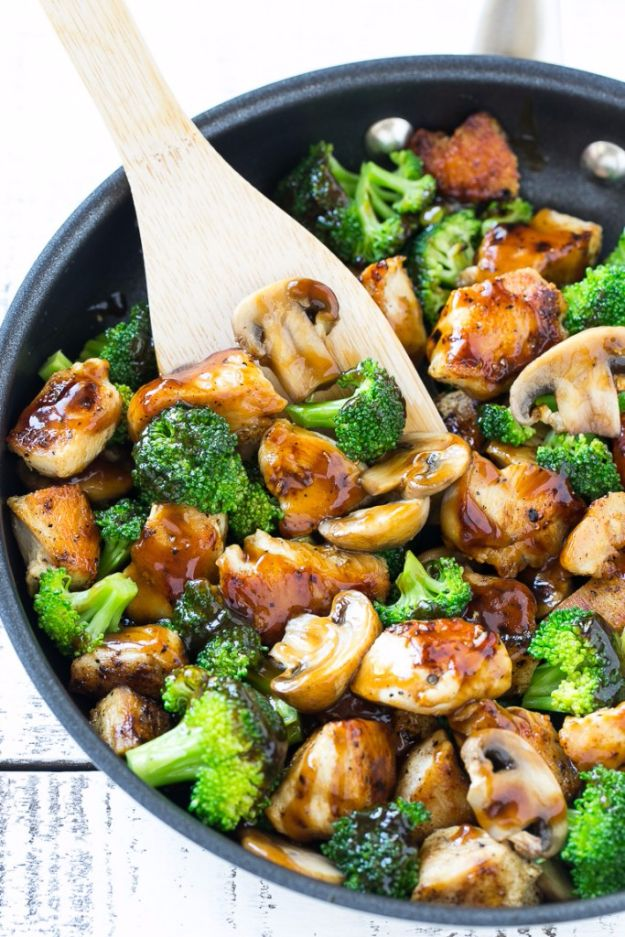 Best Broccoli Recipes - Chicken And Broccoli Stir Fry - Recipe Ideas for Roasted, Steamed, Fresh or Frozen, Healthy, Cheesy, Soup, Salad, Casseroles and Side Dish Vegetables Made With Broccoli. Shrimp, Chicken, Pasta and Paleo Recipes. Easy Dinner, healthy vegetable recipes