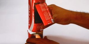 This Blew My Mind When He Put A Tea Light In A Coke Can And Made This (Watch!)