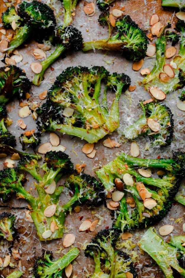 Best Broccoli Recipes - Crack Broccoli - Recipe Ideas for Roasted, Steamed, Fresh or Frozen, Healthy, Cheesy, Soup, Salad, Casseroles and Side Dish Vegetables Made With Broccoli. Shrimp, Chicken, Pasta and Paleo Recipes. Easy Dinner, healthy vegetable recipes