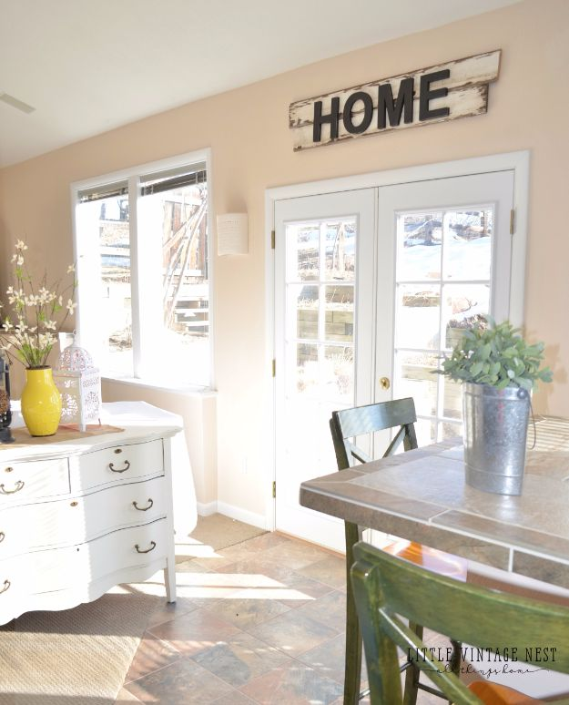 DIY Wall Letters and Word Signs - DIY Farmhouse Style Home Sign - Initials Wall Art for Creative Home Decor Ideas - Cool Architectural Letter Projects and Wall Art Tutorials for Living Room Decor, Bedroom Ideas. Girl or Boy Nursery. Paint, Glitter, String Art, Easy Cardboard and Rustic Wooden Ideas - DIY Projects and Crafts by DIY JOY #diysigns #diyideas #diyhomedecor