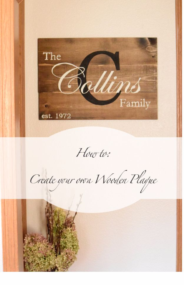 DIY Wall Letters and Word Signs - DIY Wooden Plaque - Initials Wall Art for Creative Home Decor Ideas - Cool Architectural Letter Projects and Wall Art Tutorials for Living Room Decor, Bedroom Ideas. Girl or Boy Nursery. Paint, Glitter, String Art, Easy Cardboard and Rustic Wooden Ideas - DIY Projects and Crafts by DIY JOY http://diyjoy.com/diy-letter-word-signs