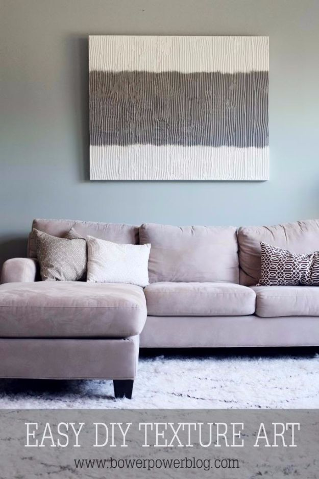 DIY Canvas Painting Ideas - Dumpster Texture Art - Cool and Easy Wall Art Ideas You Can Make On A Budget #painting #diyart #diygifts