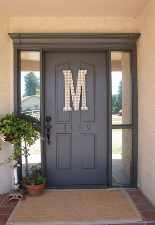 DIY Home Improvement On A Budget - Front Door Miracle - Easy and Cheap Do It Yourself Tutorials for Updating and Renovating Your House - Home Decor Tips and Tricks, Remodeling and Decorating Hacks - DIY Projects and Crafts by DIY JOY #diy