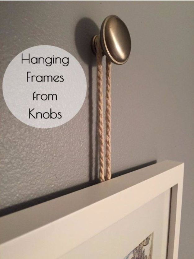 30 must know tips and tricks for hanging photos and frames How to hang a heavy picture frame without nails