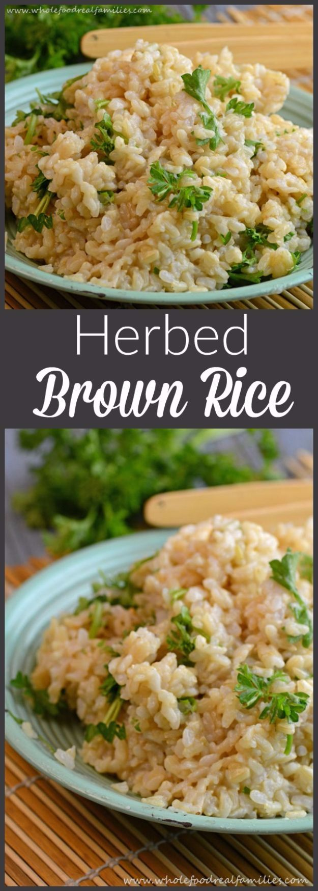 Best Rice Recipes - Herbed Brown Rice - Easy Ideas for Quick Meals Made From a Bag of Rice - Healthy Recipes With Brown, White and Arborio Rice - Cheesy, Fried, Asian, Mexican Flavored Dinner Dishes and Side Dishes - DIY Projects and Crafts by DIY JOY