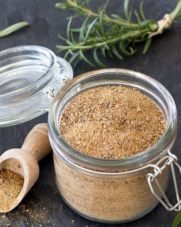DIY Ideas with Dried Herbs - Homemade Vegetable Stock Powder - Creative Home Decor With Easy Step by Step Tutorials for Making Herb Crafts, Projects and Recipes - Cool DIY Gift Ideas and Cheap Homemade Gifts - DIY Projects and Crafts by DIY JOY #diy #herbs #gifts