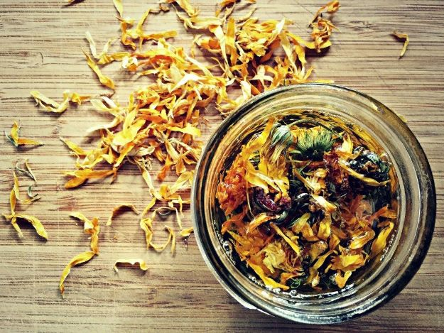 DIY Ideas with Dried Herbs - Infused Herbal Oils - Creative Home Decor With Easy Step by Step Tutorials for Making Herb Crafts, Projects and Recipes - Cool DIY Gift Ideas and Cheap Homemade Gifts - DIY Projects and Crafts by DIY JOY #diy #herbs #gifts