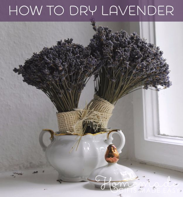 Botanical Infused Favors Gift Ideas For Bespoke Scents: 30 DIY Ideas With Dried Herbs