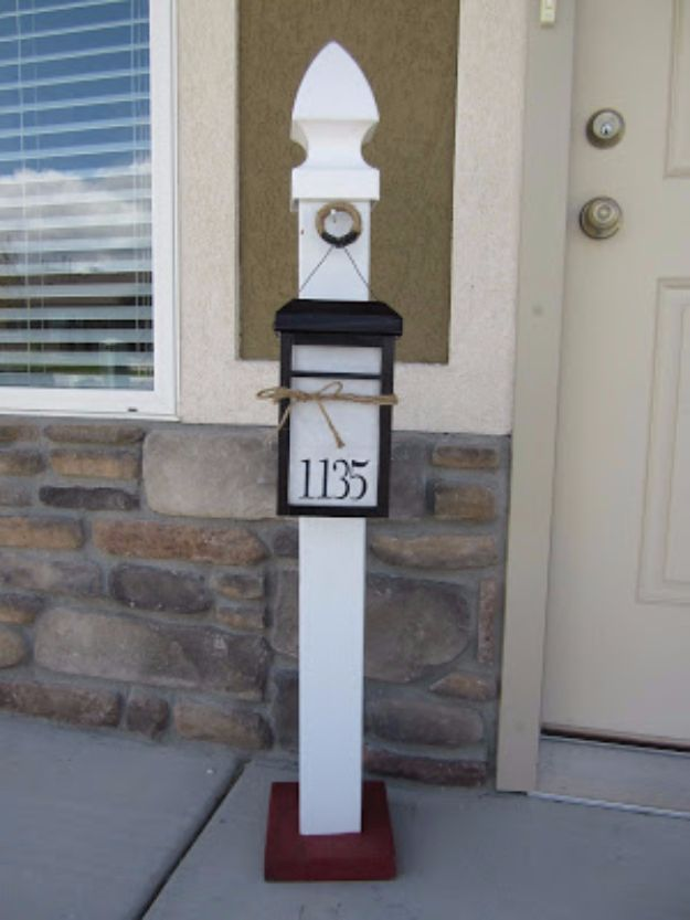 DIY House Numbers - Light Up House Number - DIY Numbers To Put In Front Yard and At Front Door - Architectural Numbers and Creative Do It Yourself Projects for Making House Numbers - Easy Step by Step Tutorials and Project Ideas for Home Improvement on A Budget #homeimprovement #diyhomedecor