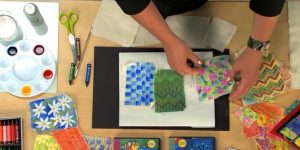 You've Gotta See This Hand Painted Story Telling Quilt!