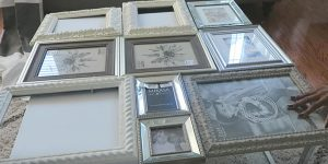 I Was Shocked When I Saw The Amazing Thing She Did With These Picture Frames!