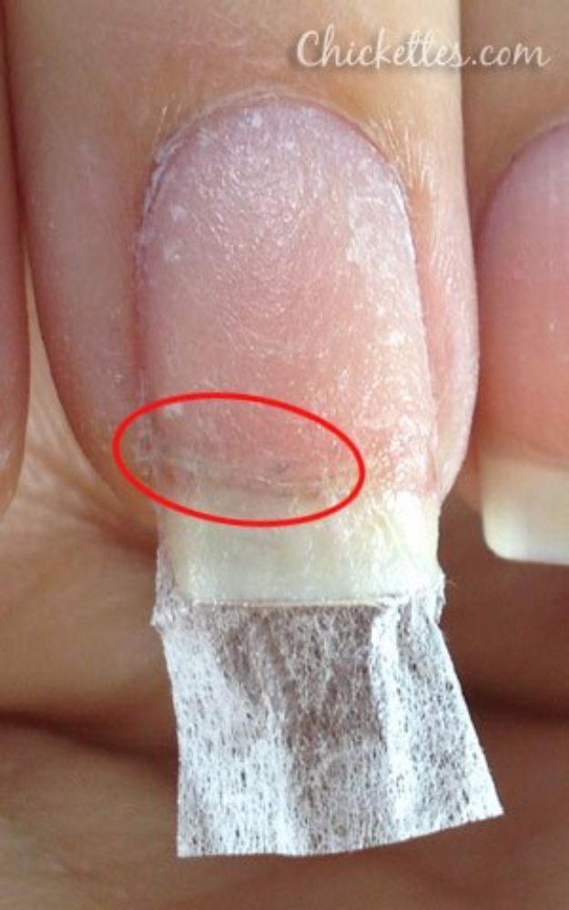 Repair Broken Nail With Tea Bag - DIY Joy