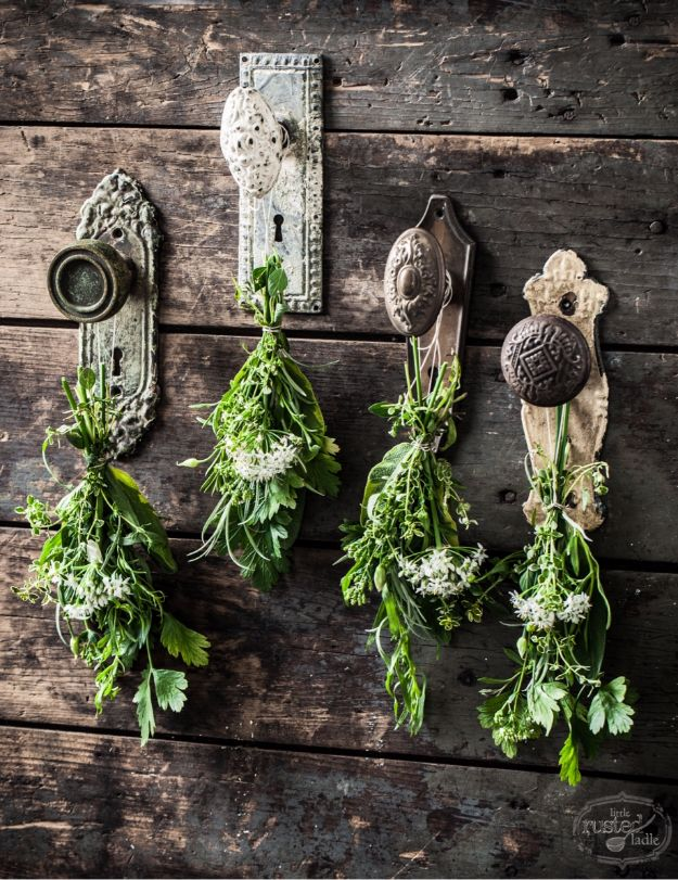 DIY Ideas with Dried Herbs - Rustic DIY Herbal Crafts - Creative Home Decor With Easy Step by Step Tutorials for Making Herb Crafts, Projects and Recipes - Cool DIY Gift Ideas and Cheap Homemade Gifts - DIY Projects and Crafts by DIY JOY #diy #herbs #gifts
