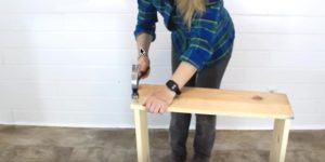 She Hammers Some Wood Together And You Won't Believe What She Makes!