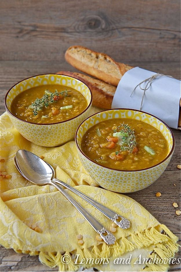 Healthy Crockpot Recipes to Make and Freeze Ahead - Slow Cooker Split Pea Soup - Easy and Quick Dinners, Soups, Sides You Make Put In The Freezer for Simple Last Minute Cooking - Low Fat Chicken, Veggies, Stews, Vegetable Sides and Beef Meals for Your Slow Cooker and Crock Pot http://diyjoy.com/healthy-crockpot-recipes