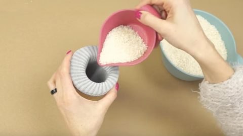 She Pours Rice In This And What She Does After That Is Amazing! | DIY Joy Projects and Crafts Ideas