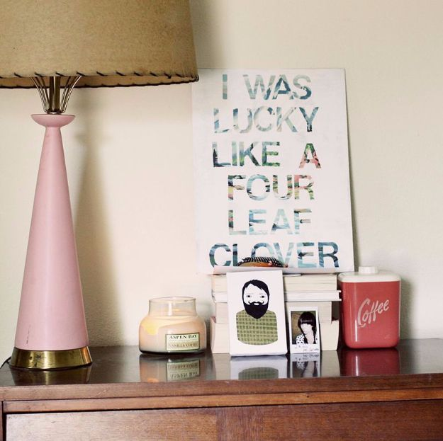 DIY Canvas Painting Ideas - Song Lyric Wall Art - Cool and Easy Wall Art Ideas You Can Make On A Budget #painting #diyart #diygifts