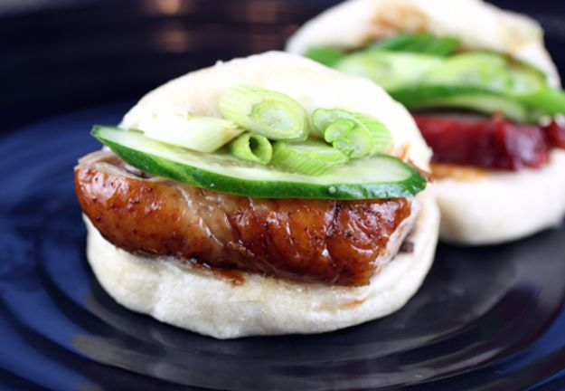 Best Canned Biscuit Recipes - Steamed Buns - Cool DIY Recipe Ideas You Can Make With A Can of Biscuits - Easy Breakfast, Lunch, Dinner and Desserts You Can Make From Pillsbury Pull Apart Biscuits - Garlic, Sour Cream, Ground Beef, Sweet and Savory, Ideas with Cheese - Delicious Meals on A Budget With Step by Step Tutorials http://diyjoy.com/best-recipes-canned-biscuits