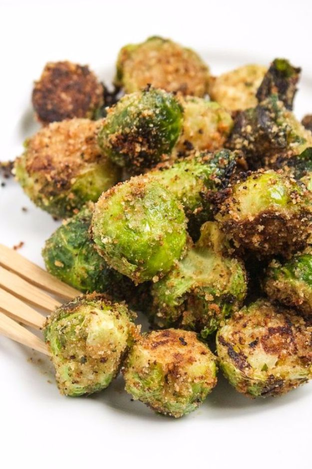 Best Brussel Sprout Recipes - The Best Brussels Sprouts - Easy and Quick Delicious Ideas for Making Brussel Sprouts With Bacon, Roasted, Creamy, Healthy, Baked, Sauteed, Crockpot, Grilled, Shredded and Salad Recipe Ideas - Cool Lunches, Dinner, Snack, Side and DIY Dinner Vegetable Dishes http://diyjoy.com/best-brussel-sprout-recipes