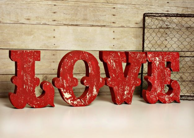 DIY Wall Letters and Word Signs - The Ripped Effect - Initials Wall Art for Creative Home Decor Ideas - Cool Architectural Letter Projects and Wall Art Tutorials for Living Room Decor, Bedroom Ideas. Girl or Boy Nursery. Paint, Glitter, String Art, Easy Cardboard and Rustic Wooden Ideas - DIY Projects and Crafts by DIY JOY http://diyjoy.com/diy-letter-word-signs