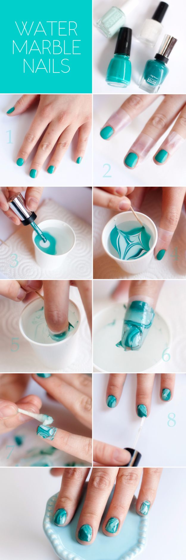 35 Genius Ideas that Will Change the Ways You Paint Your Nails