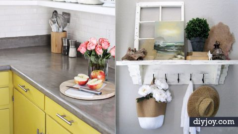 40 Home Improvement Ideas for Those On A Budget   DIY Joy Projects and Crafts Ideas