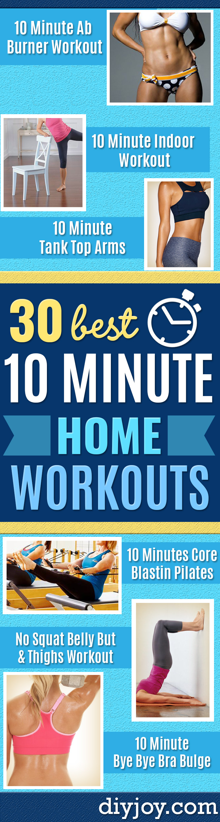 Best Quick At Home Workouts - Easy Tutorials and Work Out Ideas for Strength Training and Exercises - Step by Step Tutorials for Butt Workouts, Abs Tummy and Stomach, Legs, Arms, Chest and Back - Fast 5 and 10 Minute Workouts You Can Do On Your Lunch Break, In Car, in Hotel #exercise #health #workouts