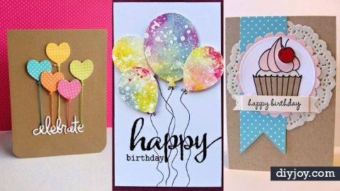 30 creative ideas for handmade birthday cards m4hsunfo