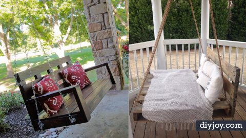 30 DIY Swings You Will Want To Be Sitting In This Year | DIY Joy Projects and Crafts Ideas