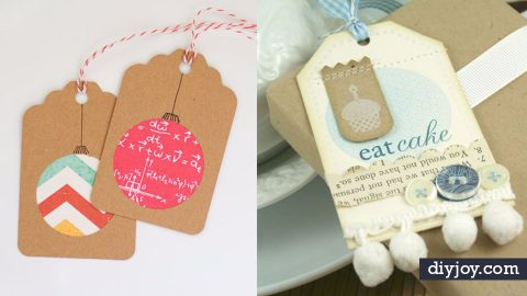31 Homemade Cards and Tags No Gift Should Be Without | DIY Joy Projects and Crafts Ideas