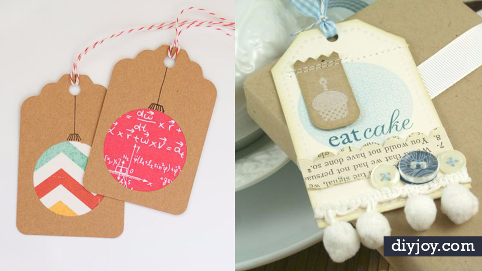Homemade Gift Cards And Tags Easy And Cheap Ideas For Creative