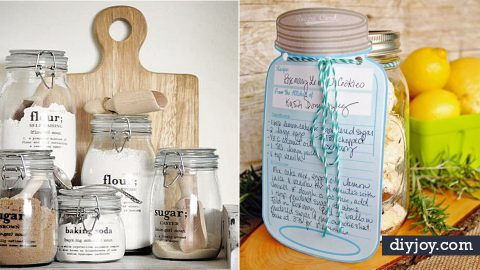 31 Free Printables and Templates for Mason Jars | DIY Joy Projects and Crafts Ideas