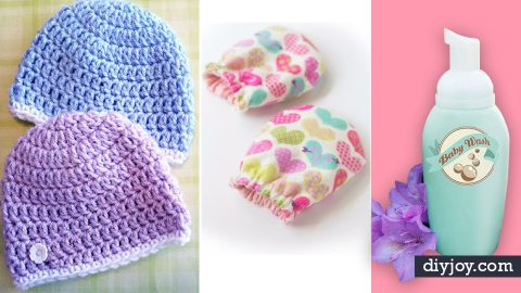31 DIY Ideas for the Newborn in Your House | DIY Joy Projects and Crafts Ideas