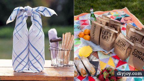 33 Fun DIY Picnic Ideas   DIY Joy Projects and Crafts Ideas