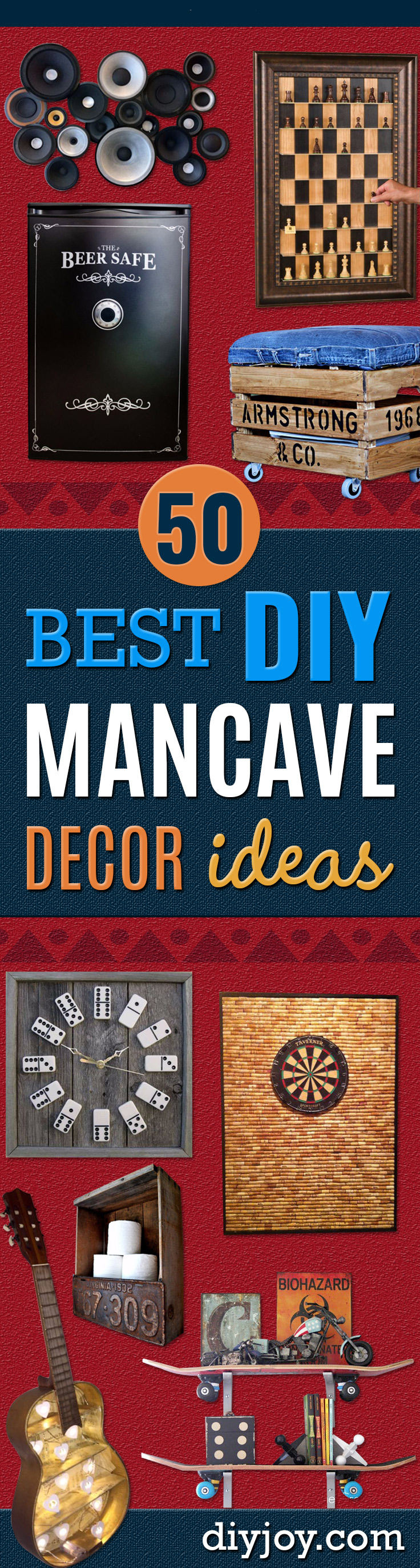 Diy Wall Art For Man Cave : Best diy mancave decor ideas joy