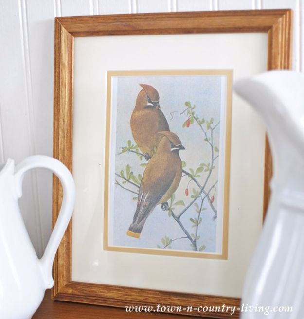 Best Free Printables For Your Walls - Bird Prints Vignette With Free Printable - Free Prints for Wall Art and Picture to Print for Home and Bedroom Decor - Crafts to Make and Sell With Ideas for the Home, Organization #diy