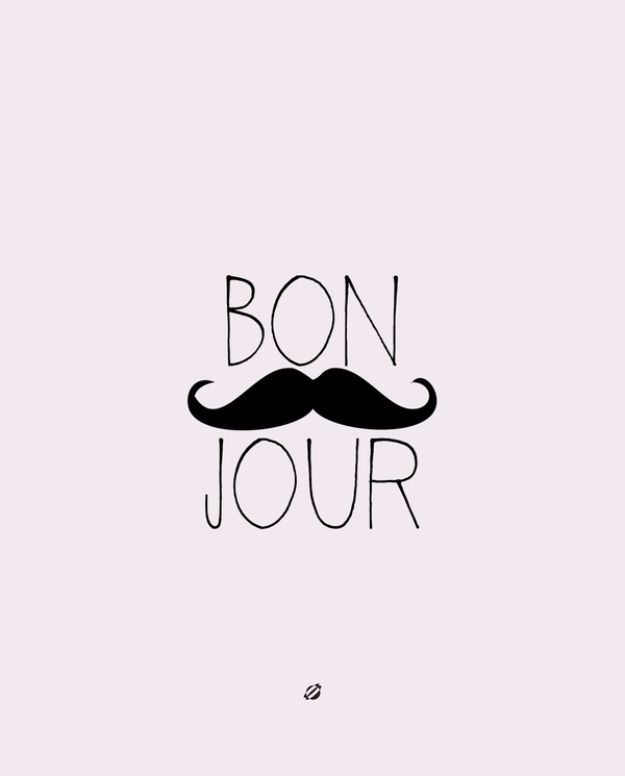 Best Free Printables For Your Walls   Bon Jour Free Printable   Free Prints  For Wall