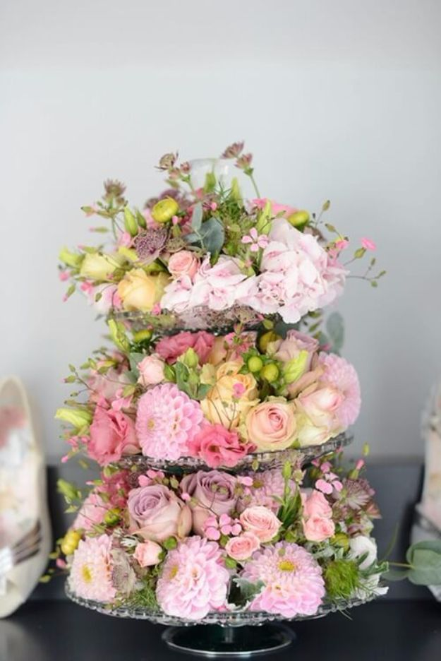 DIY Wedding Centerpieces - Cake Stand Wedding Centerpieces - Do It Yourself Ideas for Brides and Best Centerpiece Ideas for Weddings - Step by Step Tutorials for Making Mason Jars, Rustic Crafts, Flowers, Modern Decor, Vintage and Cheap Ideas for Couples on A Budget Outdoor and Indoor Weddings http://diyjoy.com/diy-wedding-centerpieces