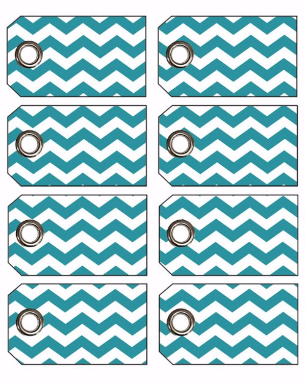 Homemade Gift Cards and Tags - Chevron Gift Tags With Eyelets - Easy and Cheap Ideas for Creative Handmade Birthday, Christmas, Mothers Day and Father Day Cards - Cute Holiday Gift Tags, Dollar Store Crafts, Homemade DIY Gifts and Gift Card Holders You Can Make at Home - Fun Crafts for Adults, Kids and Teens http://diyjoy.com/homemade-gift-cards-tags