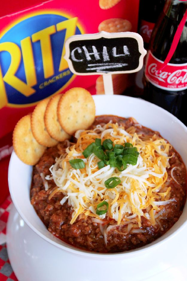 Best Coca Cola Recipes - Coca Cola Chili Con Carne - Make Awesome Coke Chicken, Coca Cola Cake, Meatballs, Sodas, Drinks, Sweets, Dinners, Meat, Slow Cooker and Recipe Ideas #cocacola #recipes #desserts