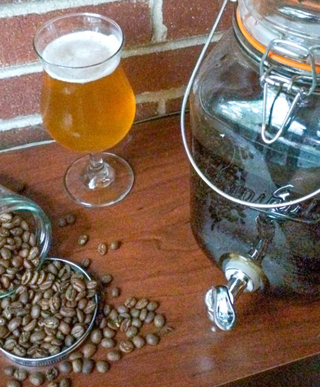 Best Homemade Beer Recipes - Coffee Beer - Easy Homebrew Drinks and Brewing Tutorials for Craft Beers Made at Home - IPA, Summer, Red, Lager and Ales - Instructions and Step by Step Tutorials for Making Beer at Home http://diyjoy.com/homemade-beer-recipes