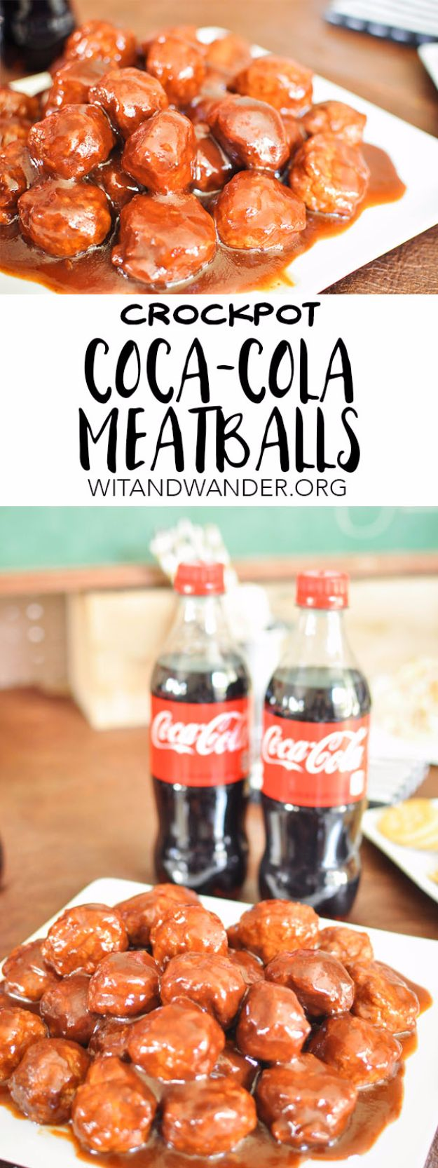 Best Coca Cola Recipes - Crockpot Coca Cola Meatballs - Make Awesome Coke Chicken, Coca Cola Cake, Meatballs, Sodas, Drinks, Sweets, Dinners, Meat, Slow Cooker and Recipe Ideas #cocacola #recipes #desserts