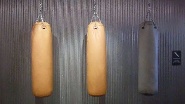 DIY Exercise Equipment Projects - DIY Homemade Punching Bag - Homemade Weights and Strength Training Projects - How To Build Simple and Easy Fitness Equipment, Yoga Mats, PVC Pipe Ideas for Butt Workouts, Strength Training and Do It Yourself Workouts At Home t