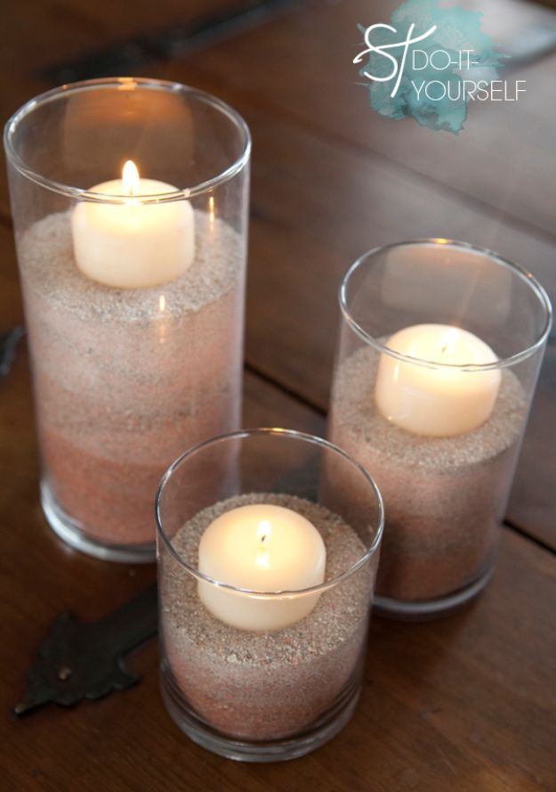DIY Wedding Centerpieces - DIY Ombre Colored Sand - Do It Yourself Ideas for Brides and Best Centerpiece Ideas for Weddings - Step by Step Tutorials for Making Mason Jars, Rustic Crafts, Flowers, Modern Decor, Vintage and Cheap Ideas for Couples on A Budget Outdoor and Indoor Weddings #diyweddings #weddingcenterpieces #weddingdecorideas