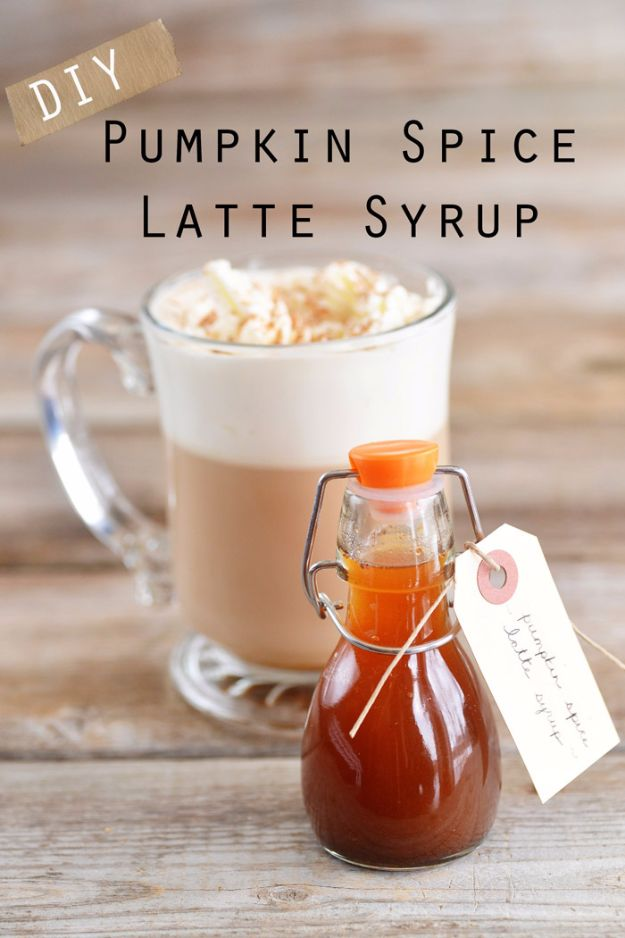 DIY Wedding Favors - DIY Pumpkin Spice Latte Syrup Wedding Favors - Do It Yourself Ideas for Brides and Best Wedding Favor Ideas for Weddings - cheap wedding favor ideas #wedding #diy