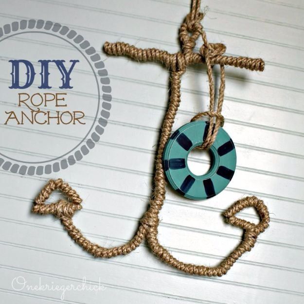 34 Fantastic Diy Home Decor Ideas With Rope: 50 Best DIY Mancave Decor Ideas