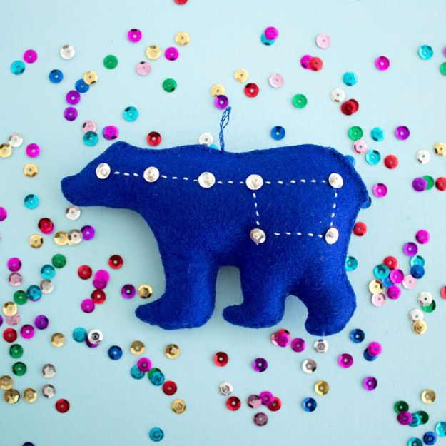 Free Embroidery Patterns - DIY Sequin Embroidery - Best Embroidery Projects and Step by Step DIY Tutorials for Making Home Decor, Wall Art, Pillows and Creative Handmade Sewing Gifts embroidery gifts diy ideas