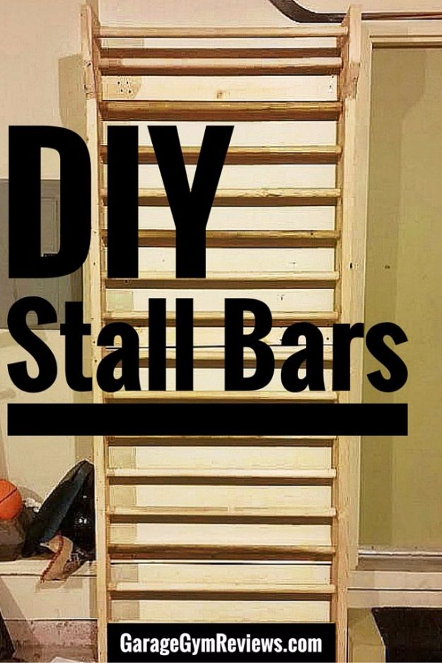 DIY Exercise Equipment Projects - DIY Stall Bars - Homemade Weights and Strength Training Projects - How To Build Simple and Easy Fitness Equipment, Yoga Mats, PVC Pipe Ideas for Butt Workouts, Strength Training and Do It Yourself Workouts At Home t
