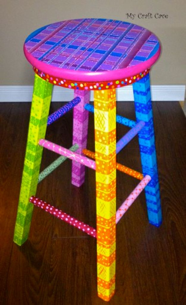 diy barstools - DIY Swivel Stool - Easy and Cheap Ideas for Seating and Creative Home Decor - Do It Yourself Bar Stools for Modern, Rustic, Farmhouse, Shabby Chic, Industrial and Simple Classic Decor #barstools #diy